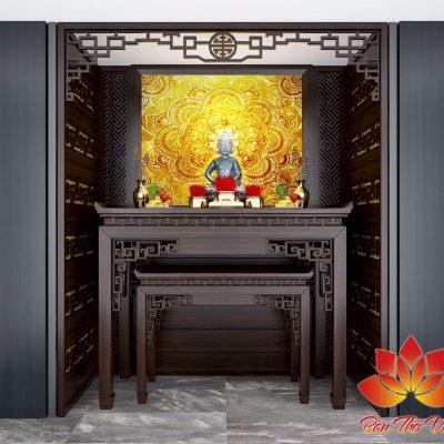 Các mẫu phòng thờ | Nội thất phòng thờ đẹp và phong thủy cho nhà phố