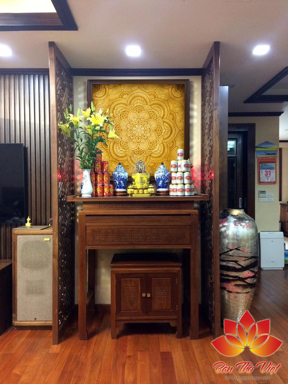 Một số mẫu phòng thờ ở Nam Định đẹp trang nghiêm