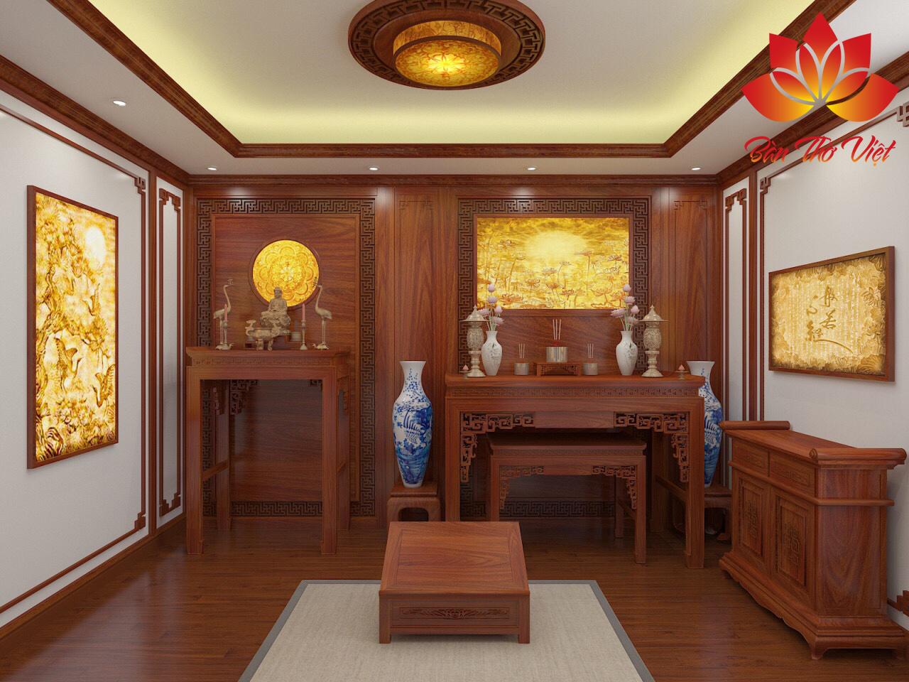 Các mẫu tủ thờ gia tiên Đẹp - Hiện đại - Hợp phong thủy gia chủ