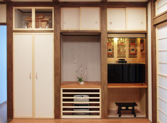 Mẫu phòng thờ kiểu Nhật Đẹp và chuẩn phong thủy