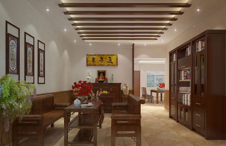 Mẫu nội thất Phòng thờ ở Phú Thọ đẹp mang lại tài lộc cho gia chủ