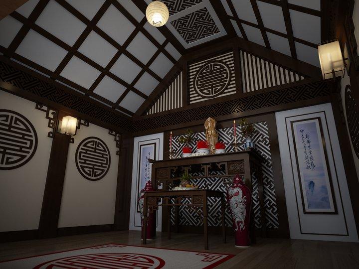 Cách đặt phòng thờ ở Nghệ An theo phong thủy cát tường như ý