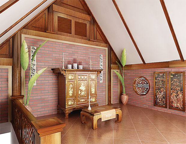 Trên bàn thờ gia tiên có mấy bát hương là CHÍNH XÁC nhất?