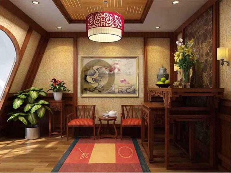 Phòng thờ ở Hoàn Kiếm được thiết kế chuẩn phong thủy mang lại may mắn