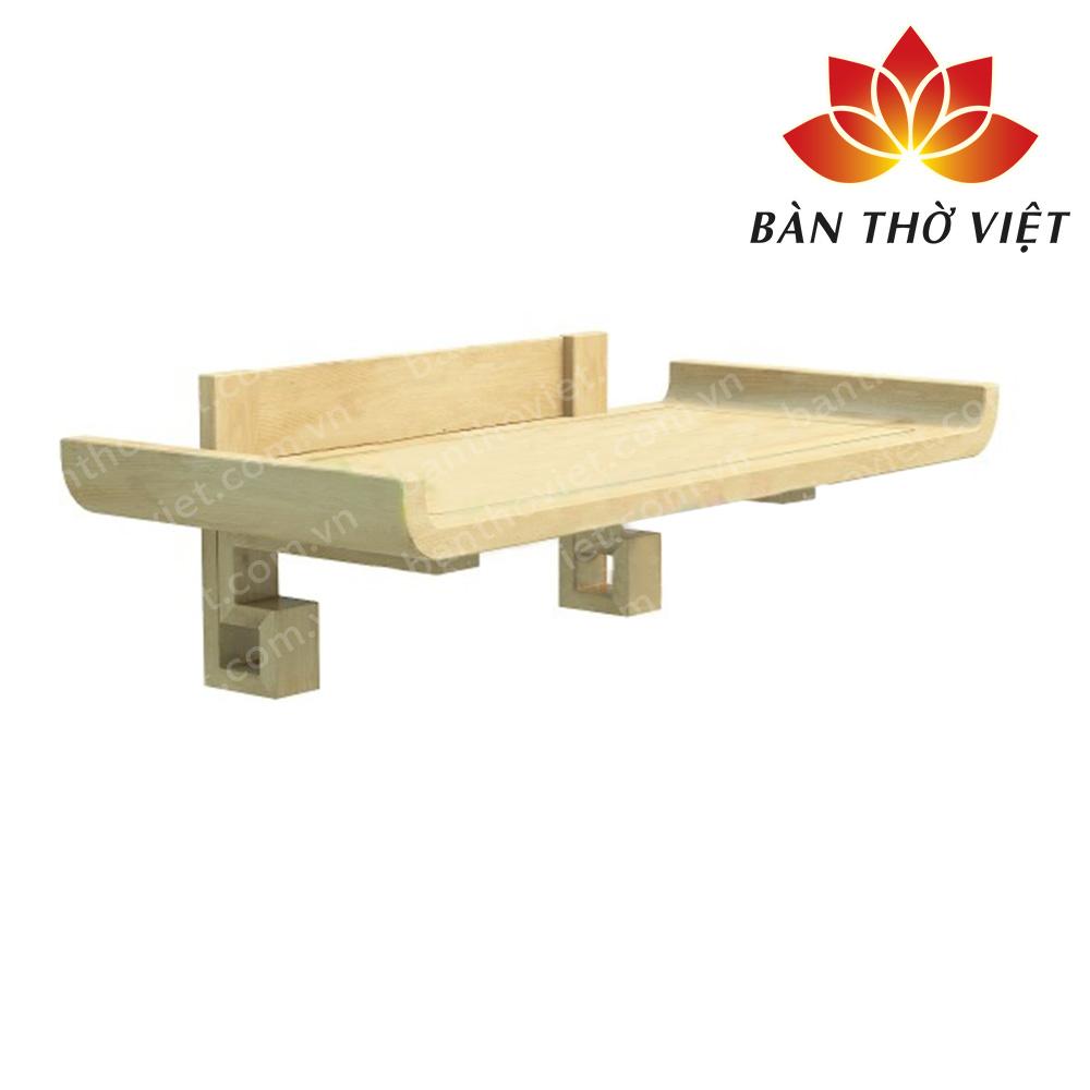 Những mẫu bàn thờ treo tường giá rẻ hợp phong thủy