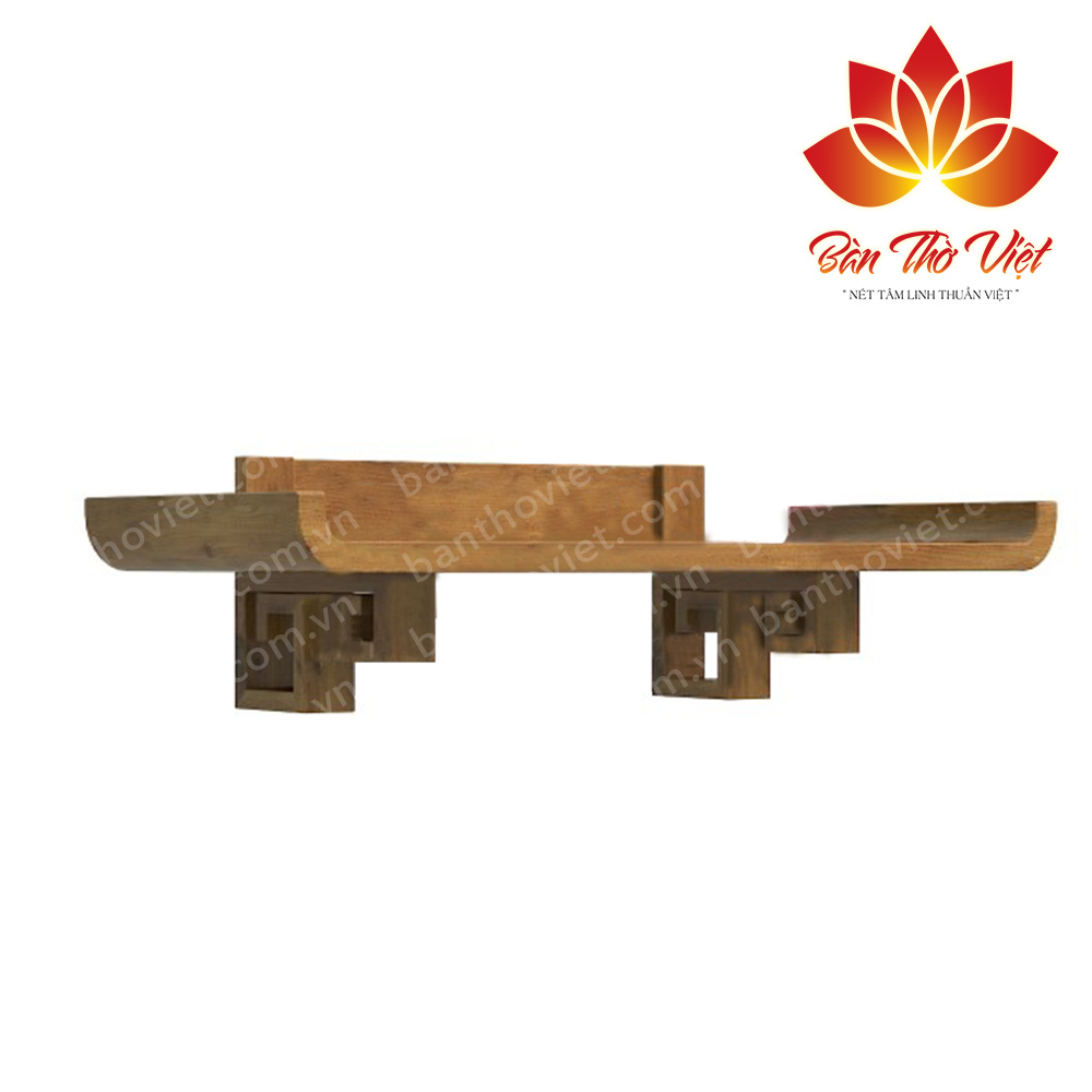 Một số mẫu bàn thờ treo tường gỗ hương đẹp được thiết kế tinh xảo