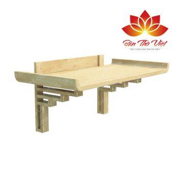 Những mẫu bàn thờ treo tường hiện đại cho ngôi nhà Việt