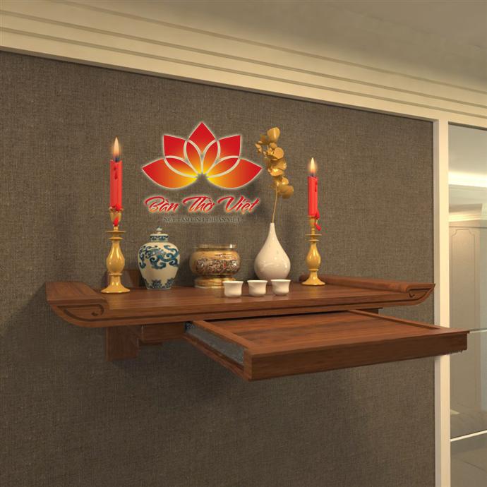 Những mẫu bàn thờ chung cư độc đáo nhất hiện nay