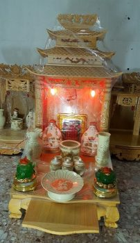 Những đồ vật cần có trên bàn thờ Thần Tài và Các bố trí hút may mắn