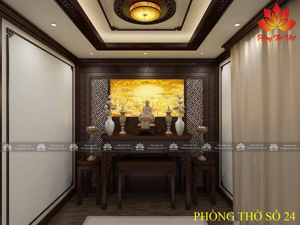 Vị trí đặt tượng Phật bà Quan Âm trong nhà