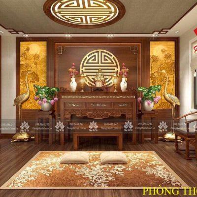 Cách bày trí bàn thờ 3 tầng hợp phong thủy