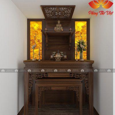 Chọn vị trí đặt bàn thờ hiện đại hợp với phong thủy không hề khó