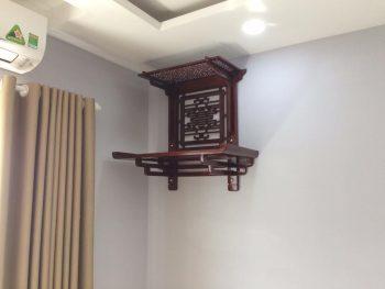 Vị trí đặt bàn thờ treo tường phù hợp phong thủy cho nhà chung cư