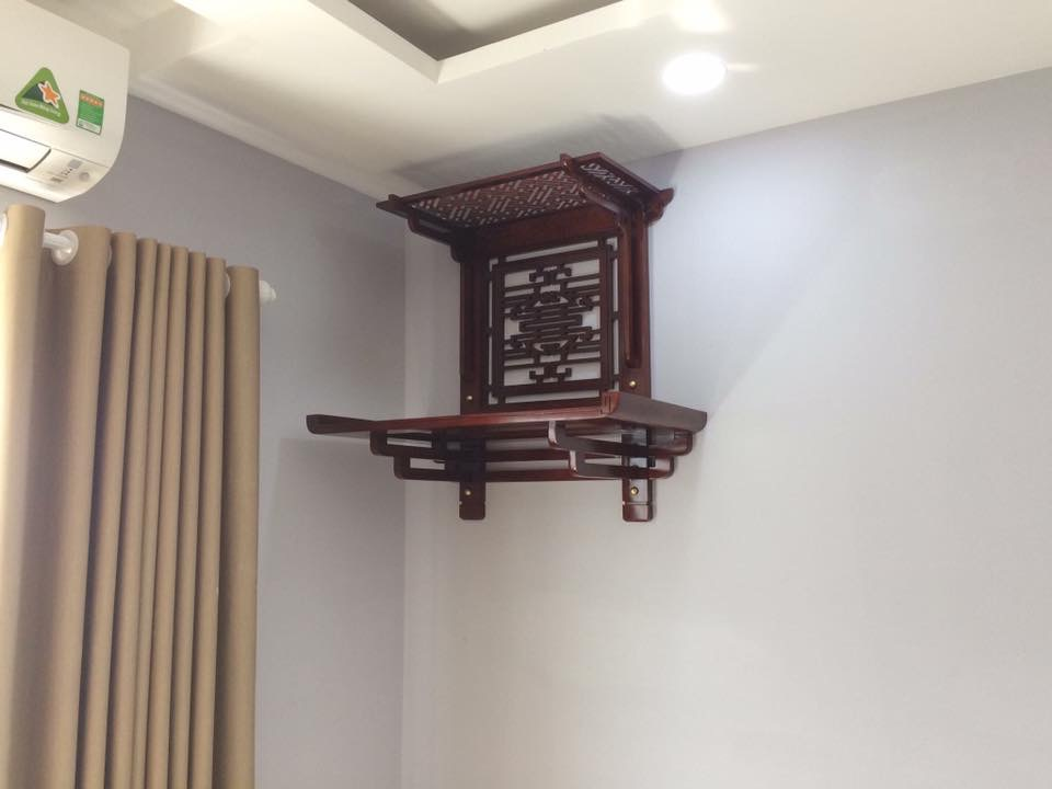 Kích thước bàn thờ treo tường phong thủy đẹp mang lại tài lộc