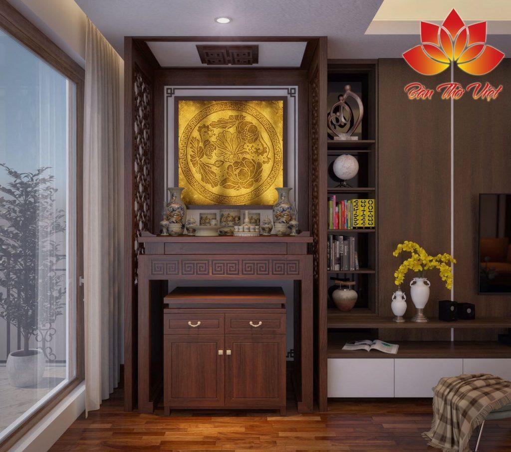Các mẫu tủ thờ vách ngăn CNC đẹp và hiện đại cho nhà chung cư
