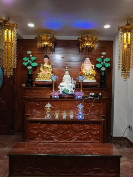 Cách đặt tủ thờ Phật Bà Quan Âm tại nhà để mang lại bình an