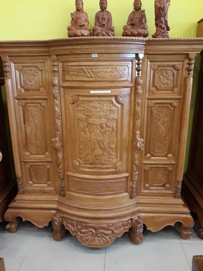 Tổng hợp 5+ mẫu tủ thờ loại to đẹp CHUẨN phong thủy