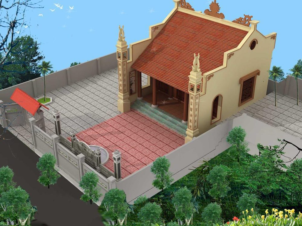 Tổng hợp các mẫu thiết kế nhà thờ họ đẹp và chuẩn phong thủy