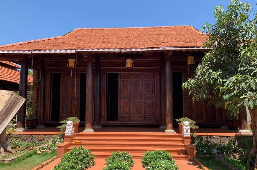Mẫu nhà thờ họ bằng gỗ đẹp được thiết kế chuẩn phong thủy