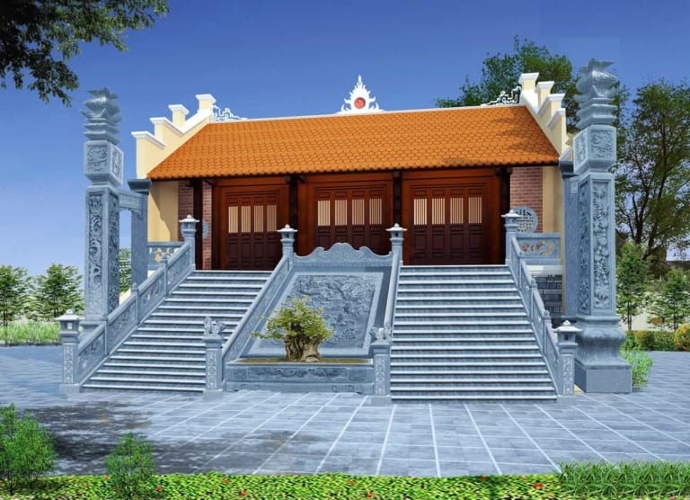 Mẫu thiết kế nhà thờ họ có diện tích nhỏ được ưa chuộng nhất